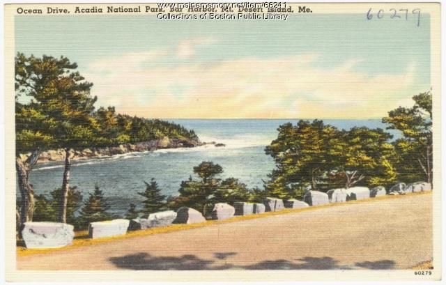Park Loop Road, Acadia National Park, ca. 1935