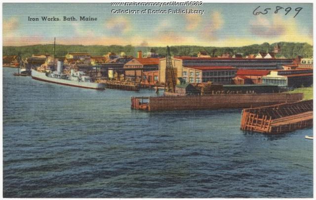 Iron Works, Bath, ca. 1935