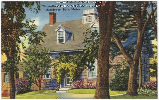 Stone-House, Bath, ca. 1935