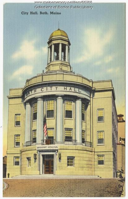 City Hall, Bath, ca. 1935