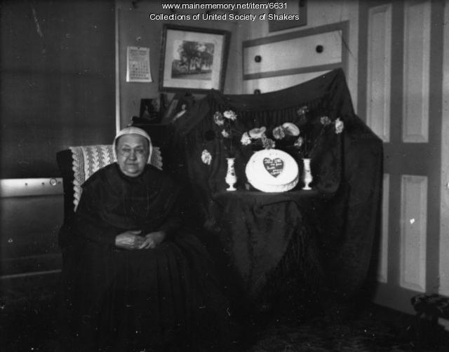 Aurelia G. Mace, Sabbathday Lake Shaker Village, 1905