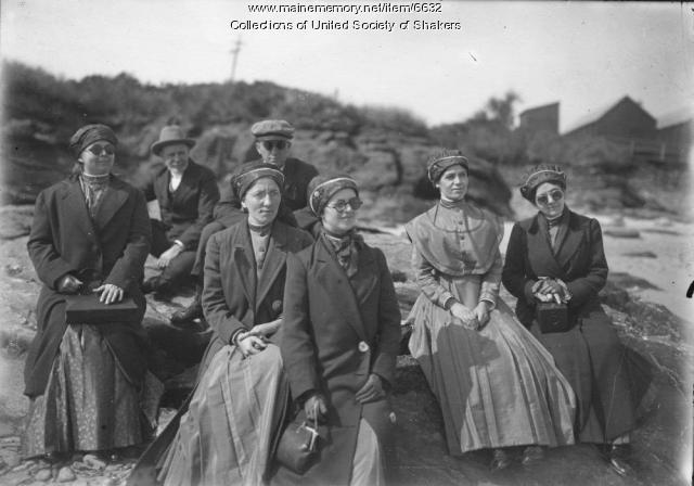 Hancock Shakers Visiting Scarboro Beach, 1916