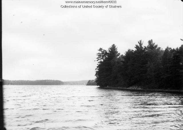 Loons Point, Sabbathday Lake, ca. 1915