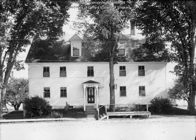 Trustees' Office, Sabbathday Lake Shaker Village, ca. 1915