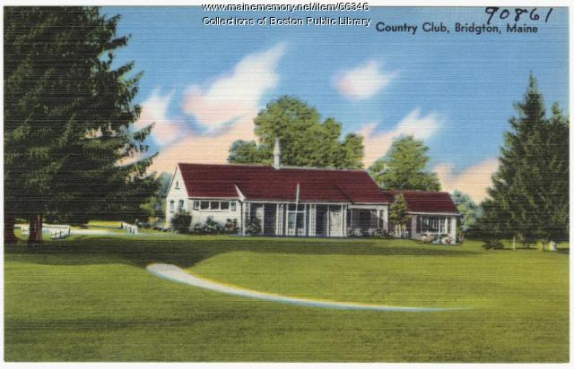 Country Club, Bridgton, ca. 1938