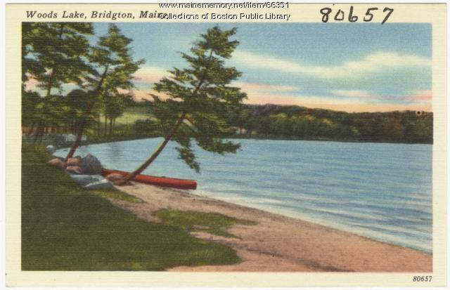 Woods Lake, Bridgton, ca. 1938