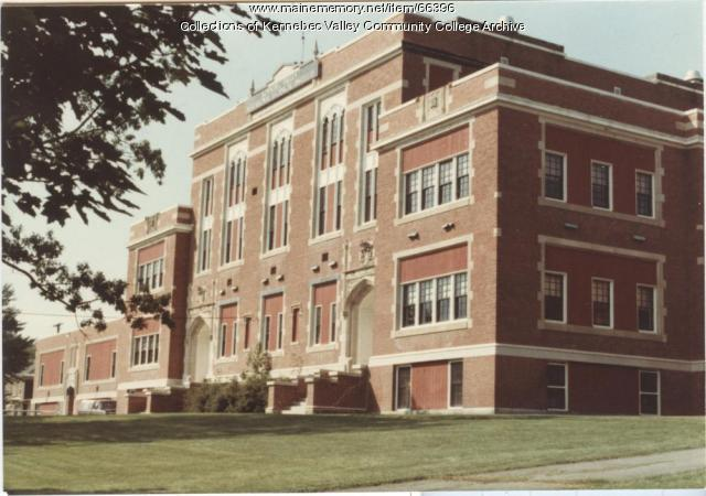 Gilman School, Kennebec Valley Vocational Technical Institute, Waterville, 1983