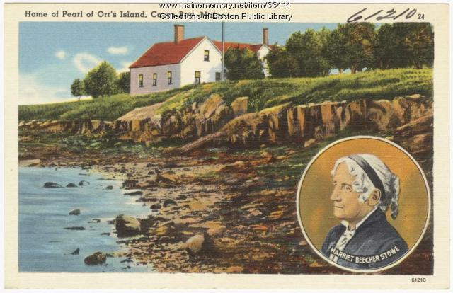 "Home of ""Pearl of Orr's Island,"" ca. 1935"