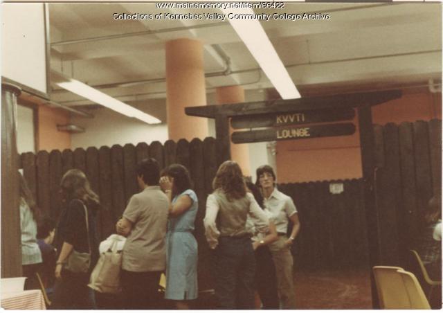 Gilman School Cafe/Lounge, Waterville, 1983