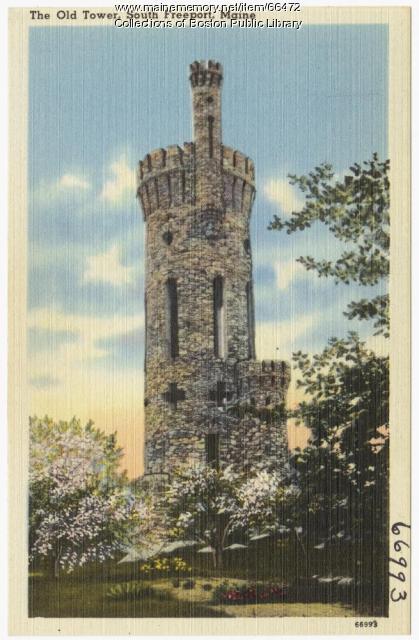 Casco Castle, South Freeport, ca. 1935