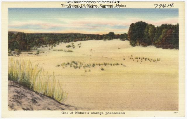 The Desert of Maine, Freeport, ca. 1938
