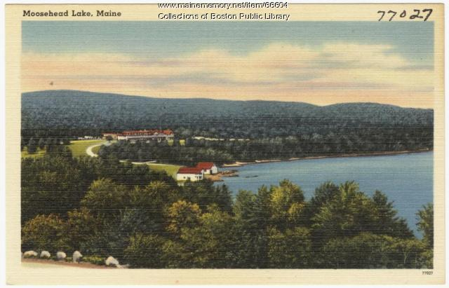 Moosehead Lake, Greenville, ca. 1938