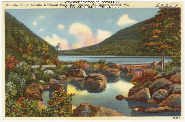 Bubble Pond, Mt. Desert Island, ca. 1938