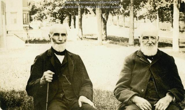 Thomas Richardson and Jacob Stinchfield, Strong, ca. 1888