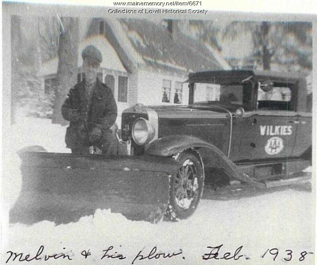 Melvin and His Plow, Lovell, 1938