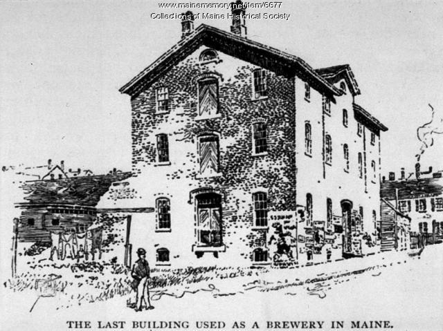 McGlinchey's Brewery, Portland, ca. 1850