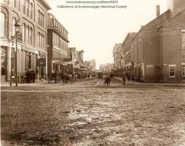 Lisbon Street circa 1890