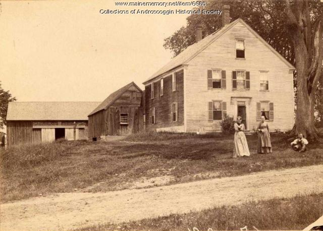 Giddinge home, Danville, ca. 1895
