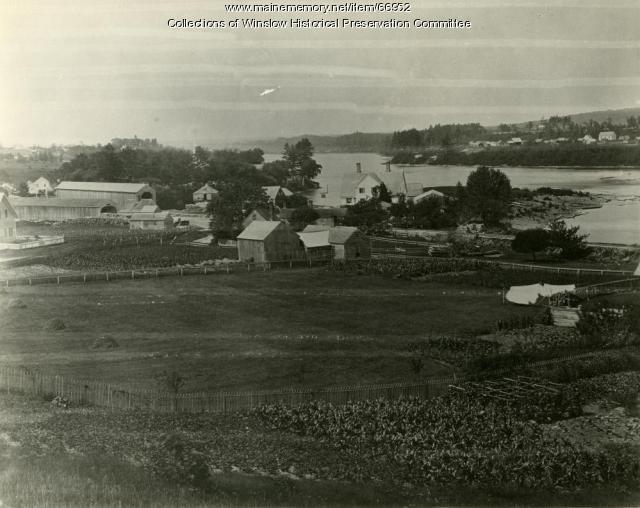 Fort Farm point area, Winslow, ca. 1859