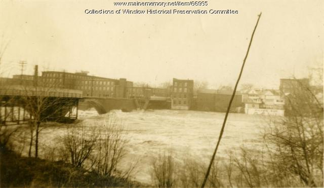 Flood, Waterville, March 1936