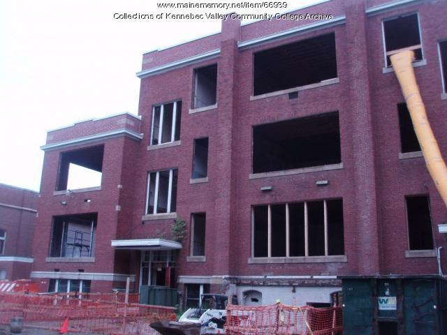 Gilman School renovation, Waterville, 2010