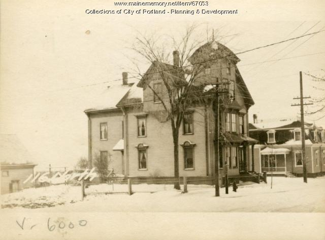 114-116 North Street, Portland, 1924