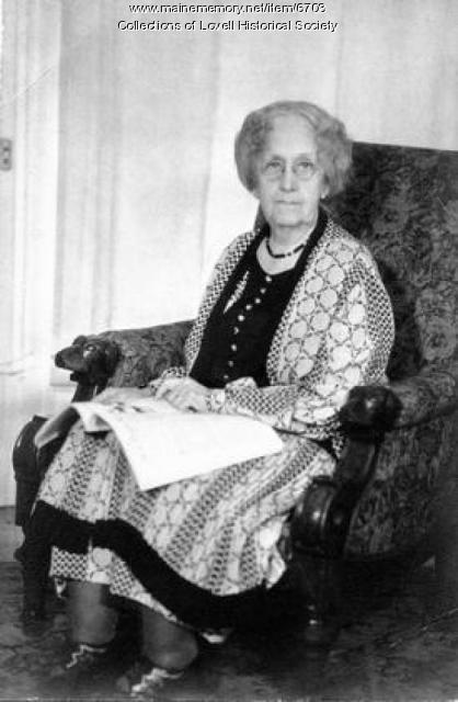 Martha Annie Heald, Lovell, ca. 1930