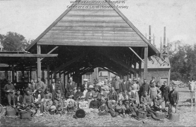 Corn Canning, Lovell, ca. 1890