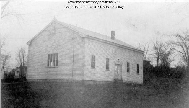 First Meeting House, Lovell, ca. 1939