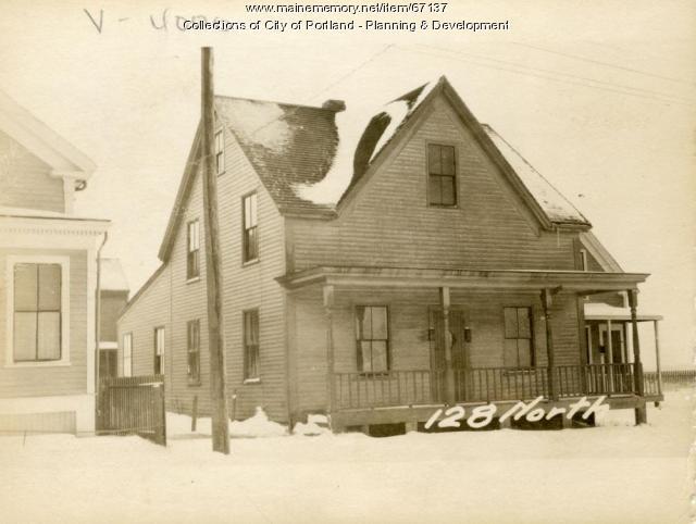 128 North Street, Portland, 1924