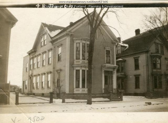 48-50 North Street, Portland, 1924