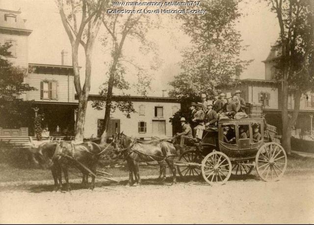 Fryeburg-Lovell stage, ca. 1888