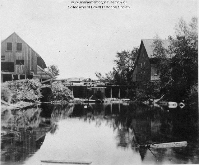Sawmill, Kezar River, Lovell