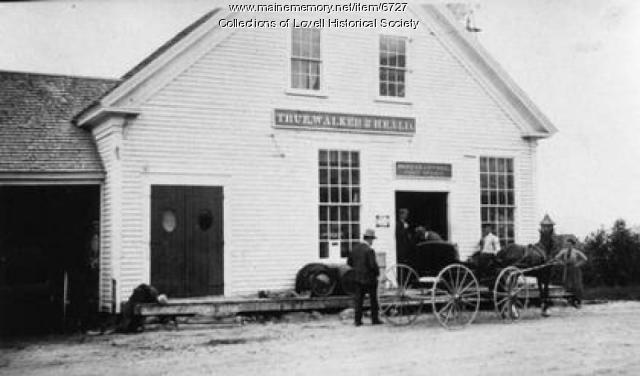 True & Walker Store, Center Lovell, ca. 1890