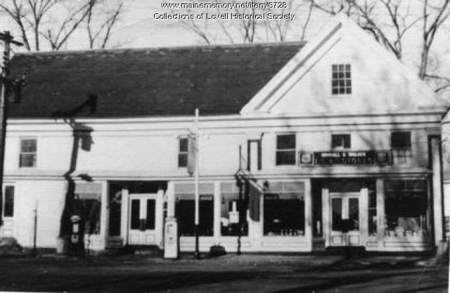 Village store, Lovell, ca. 1950