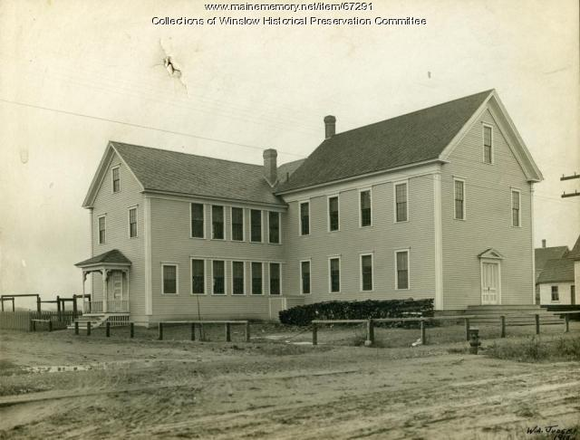 Sand Hill School, Winslow, 1910