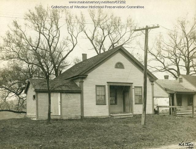 Original Fort School, Lithgow Street, Winslow, 1910