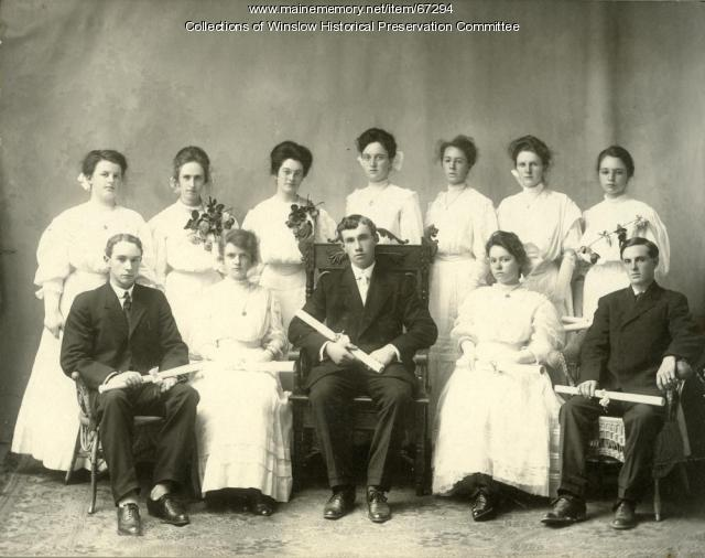 High School Graduates, Winslow, 1907