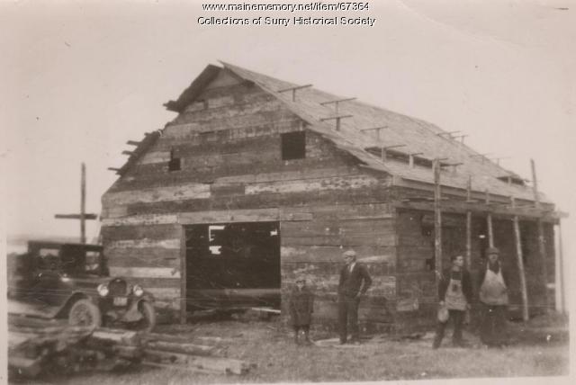 Barn, Surry, ca. 1930