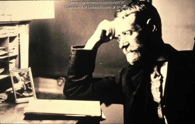 Brother Stephen Gowen, Sabbathday Lake Shaker Village, ca. 1910