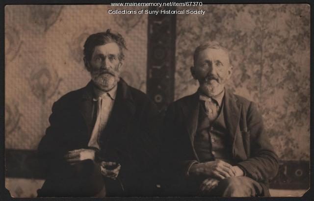 Thatcher brothers, Surry, ca. 1910