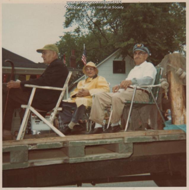 """""""Old Sea Captains,"""" Surry, 1970"""
