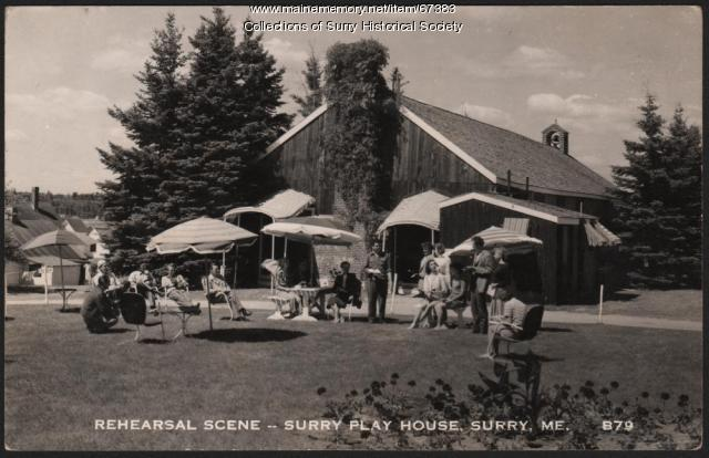 Playhouse, Surry, 1946