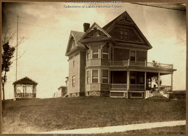 House at 87 Main Street, Lubec, ca. 1915