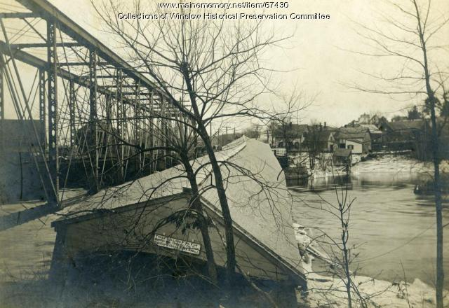Covered bridge, Winslow, 1901