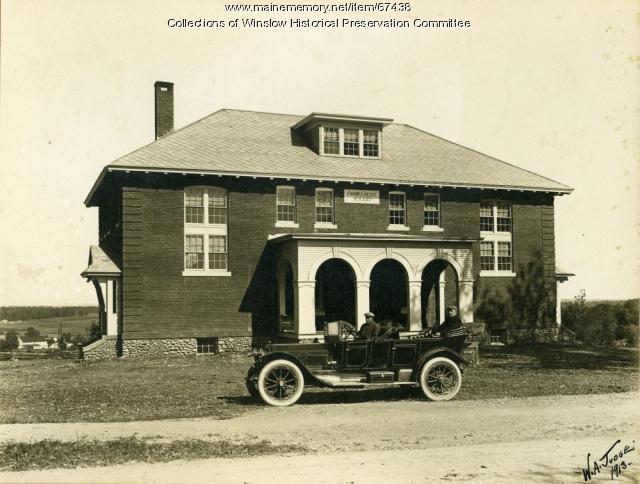 Besse High School, Albion, September 1913