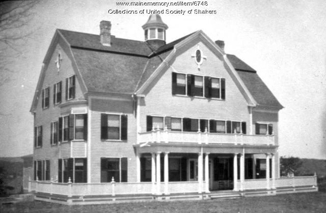 Second Dwelling House, Alfred Shaker Village, ca. 1903