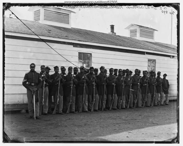 4th U.S. Colored Infantry, Fort Lincoln, Washington, D.C., ca. 1864