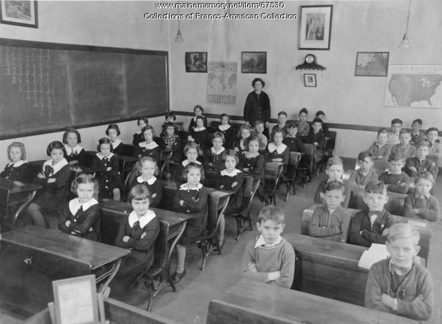 St. Peter's School, Lewiston, 1937