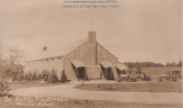 Playhouse, Surry, ca. 1930